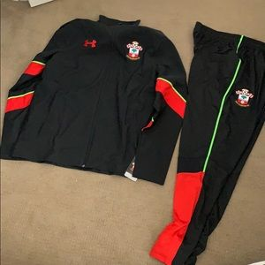 Under Armour Southampton FC warm up track suit